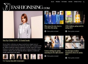 Fashionising website
